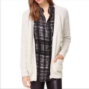 Wilfred Free Cable Knit Zipper Sweater - szS